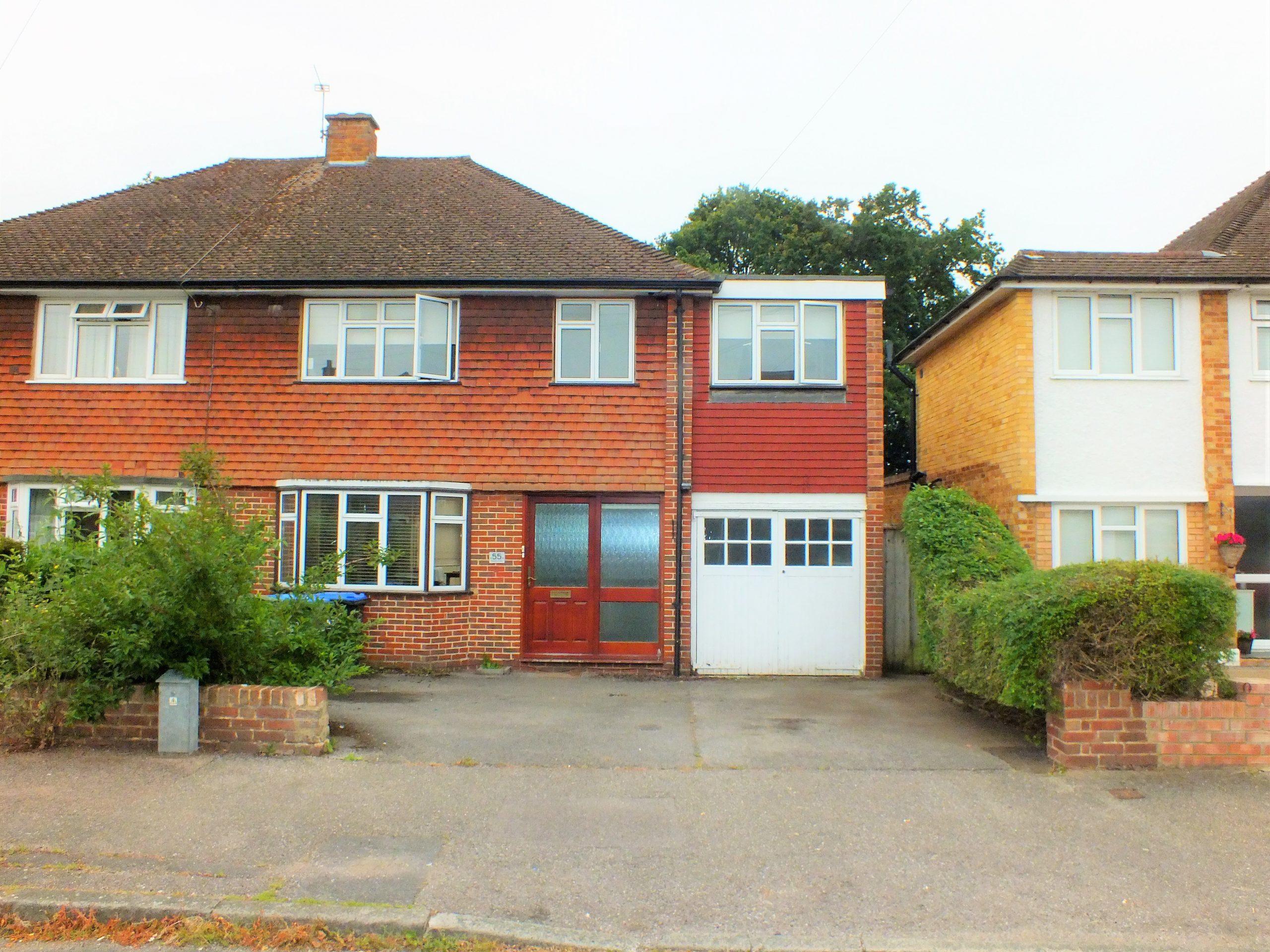 55 Wolsey Drive, Walton on Thames, Surrey, KT12 3BB